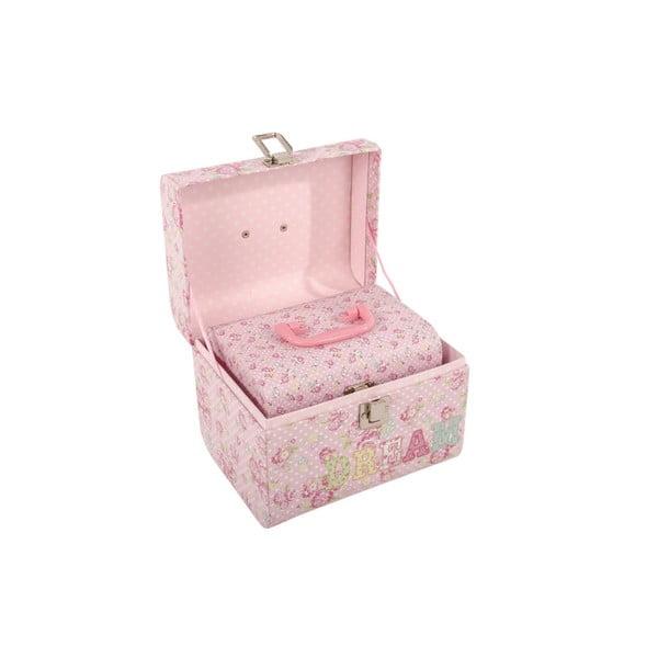 Sada 2 úložných krabic Love