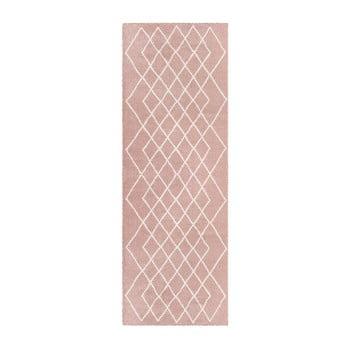 Traversă Elle Decor Passion Bron 80 x 200 cm roz