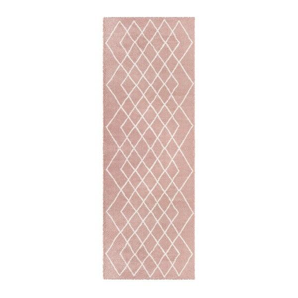 Passion Bron rózsaszín futószőnyeg, 80 x 200 cm - Elle Decor