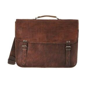 Pánská kožená taška Grande Laptop Bag with Handle