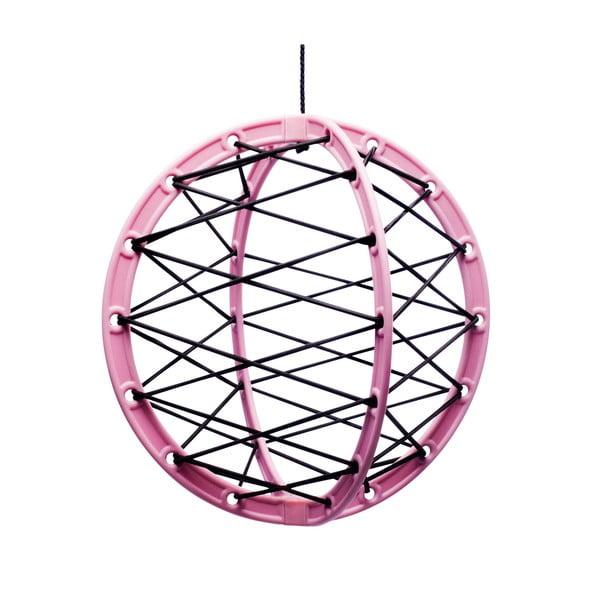 Závěsná úložná koule Pink Pluk
