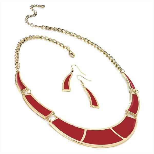 Set náhrdelník a náušnice Jasmine