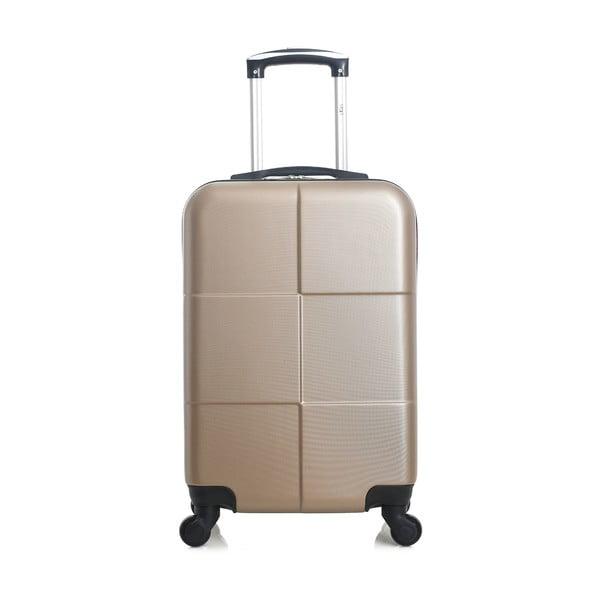 Cestovní kufr ve zlaté barvě na kolečkách Hero Coronado, 36 l