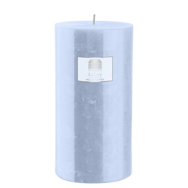 Svíčka 20 cm, modrá, 160 hodin hoření