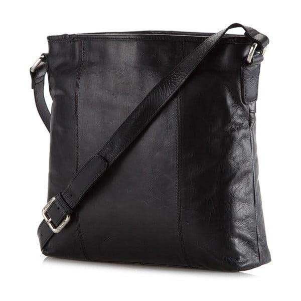 Kožená kabelka Elegance City Black
