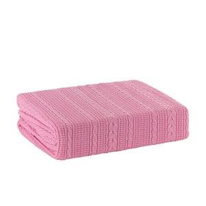 Pletená deka Pinkie, 170x220 cm