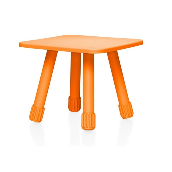 Oranžový multifunkční stolek Fatboy Tablitski