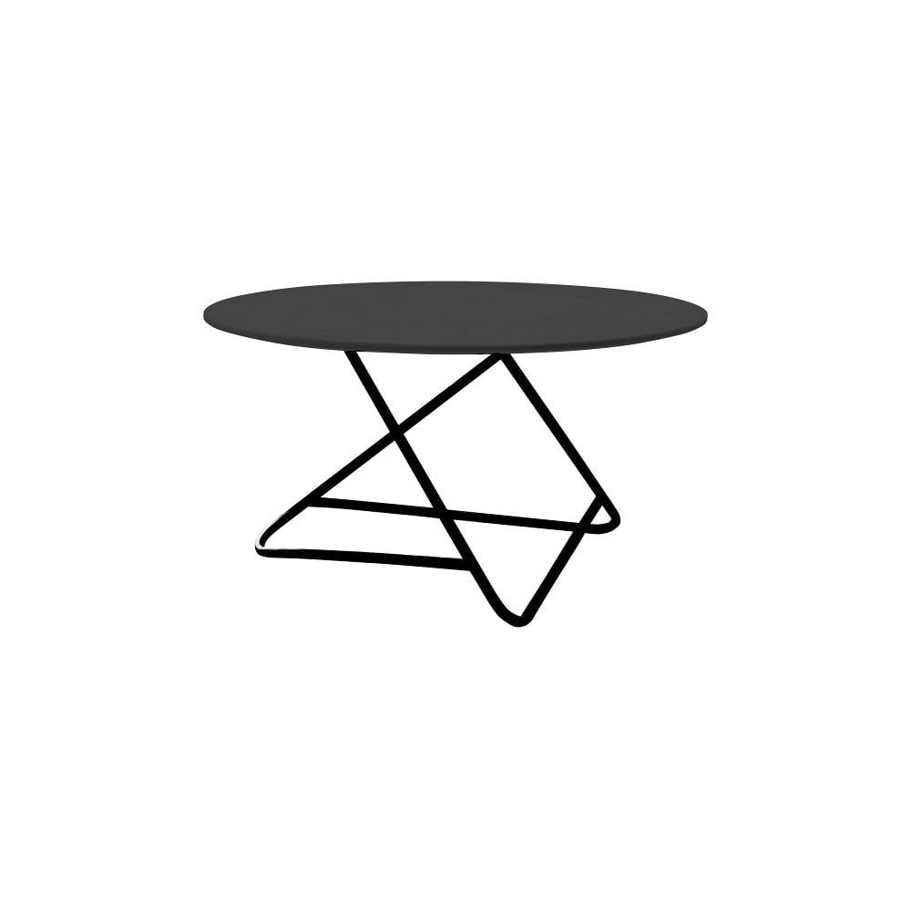 Černý stůl Softline Tribeca, 90 cm