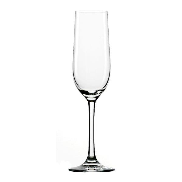 Set 6 sklenic Classic Flute Champagne, 190 ml