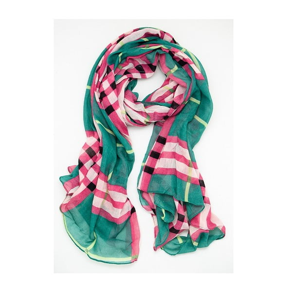 Šátek Check Lilas