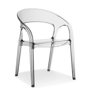 Transparentní židle Pedrali Gossip