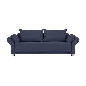 Canapea extensibilă cu 3 locuri Windsor & Co Sofas Casiopea, albastru închis de la Windsor & Co Sofas
