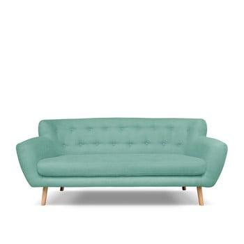 Canapea cu 3 locuri Cosmopolitan design London verde mentol