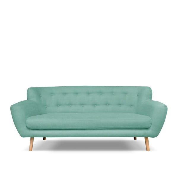 London mentazöld háromszemélyes kanapé - Cosmopolitan design