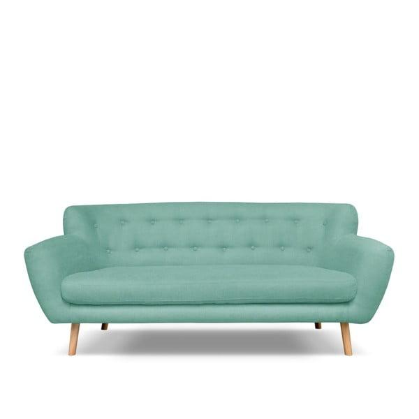 Zielona sofa 3-osobowa Cosmopolitan design London