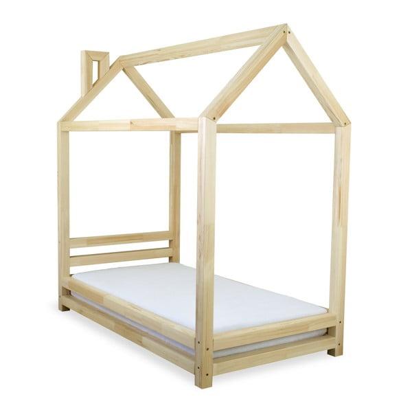 Dětská postel z lakovaného borovicového dřeva Benlemi Happy,90x200cm