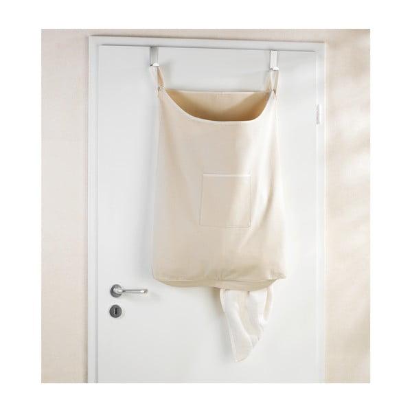 Laundry bézs felakasztható szennyestartó kosár, 65 l - Wenko