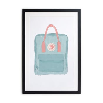Tablou/poster înrămat Really Nice Things Kanken, 40x60cm de la Really Nice Things