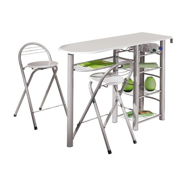 Barový stolek se dvěma židlemi Frolly