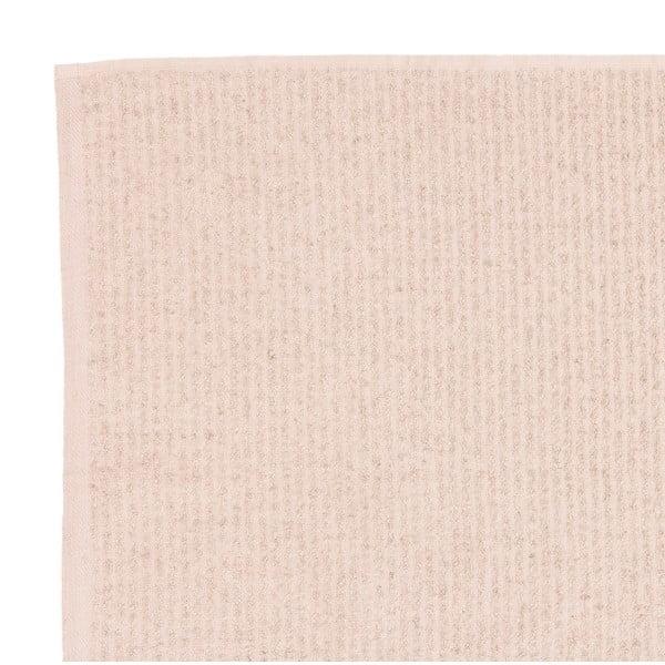 Sada 2 béžových froté ručníků Casa Di Bassi Stripe, 50x90cm