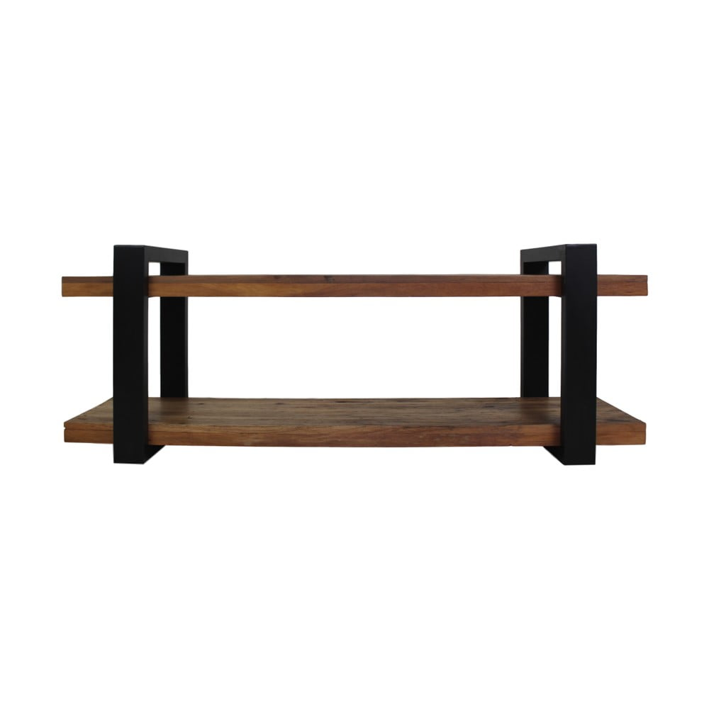 TV stolek s deskou z teakového dřeva HSM collection, délka 150 cm