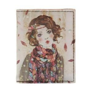 Portofel pentru carduri Santoro London Willow Souvenir D´Hiver