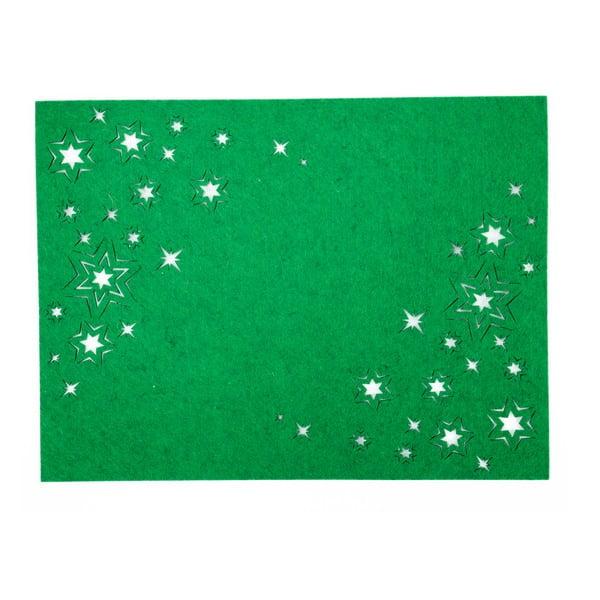 Zelené plstěné prostírání Unimasa
