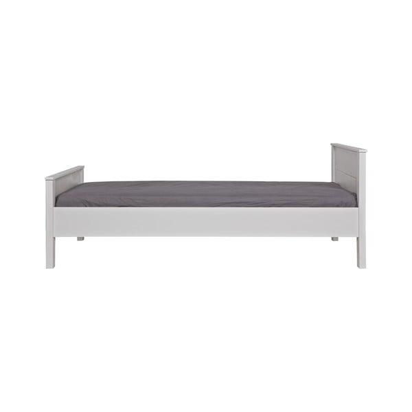 Bílá postel Jade WOOOD 90x200cm