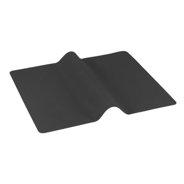 Tmavě šedá multifunkční krájecí a pečící podložka Metaltex Brown, 38 x 30 cm