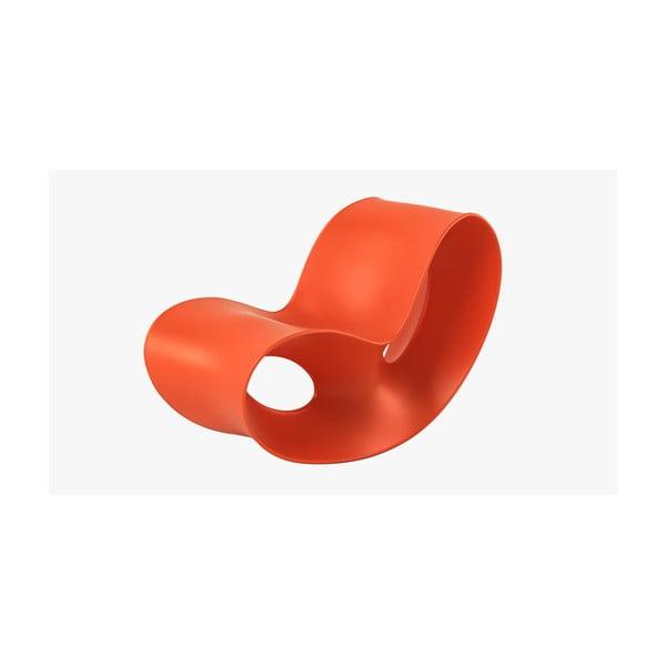 Pomarańczowy fotel Magis Voido