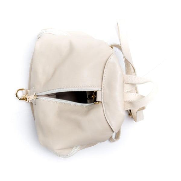 Kožený batoh Roberta M. 2079 Beige