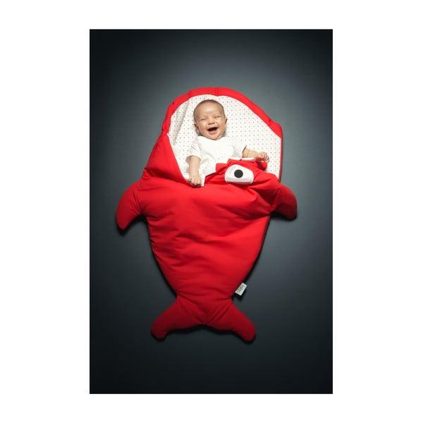 Dětský spací vak Red Polka Dot, vhodné i na teplé dny