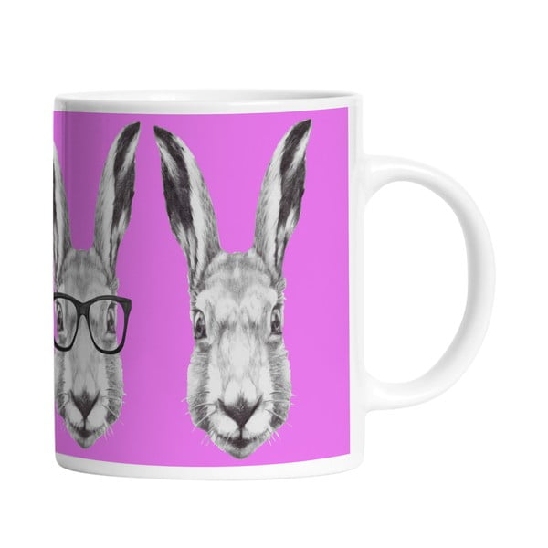 Keramický hrnek Cool Bunny, 330 ml