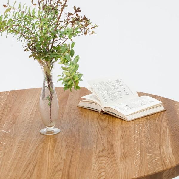 Dubový jídelní stůl Bontri, Ø 115 cm