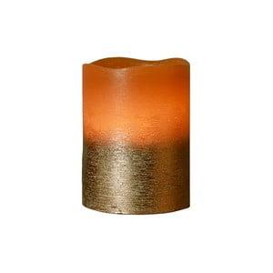 Hnědá LED svíčka Orange, 10 cm