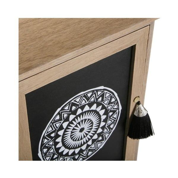 Dřevěná nástěnná skříňka na klíče Versa Door