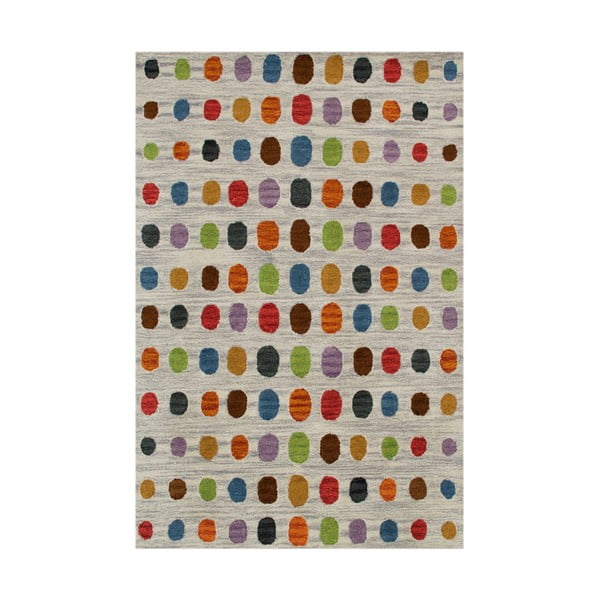 Ručně tuftovaný koberec Bakero Wimbledon Grey, 120x180cm