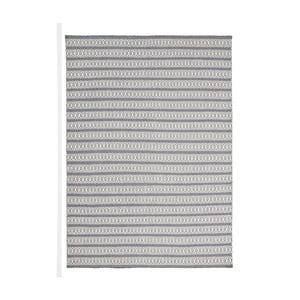 Covor țesut manual  Linie Design Valmora, 200 x 300 cm, gri - albastru