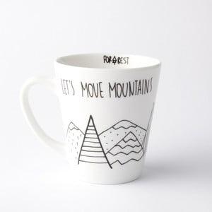Hrnek FOR.REST Design Let's Move Mountains,400ml