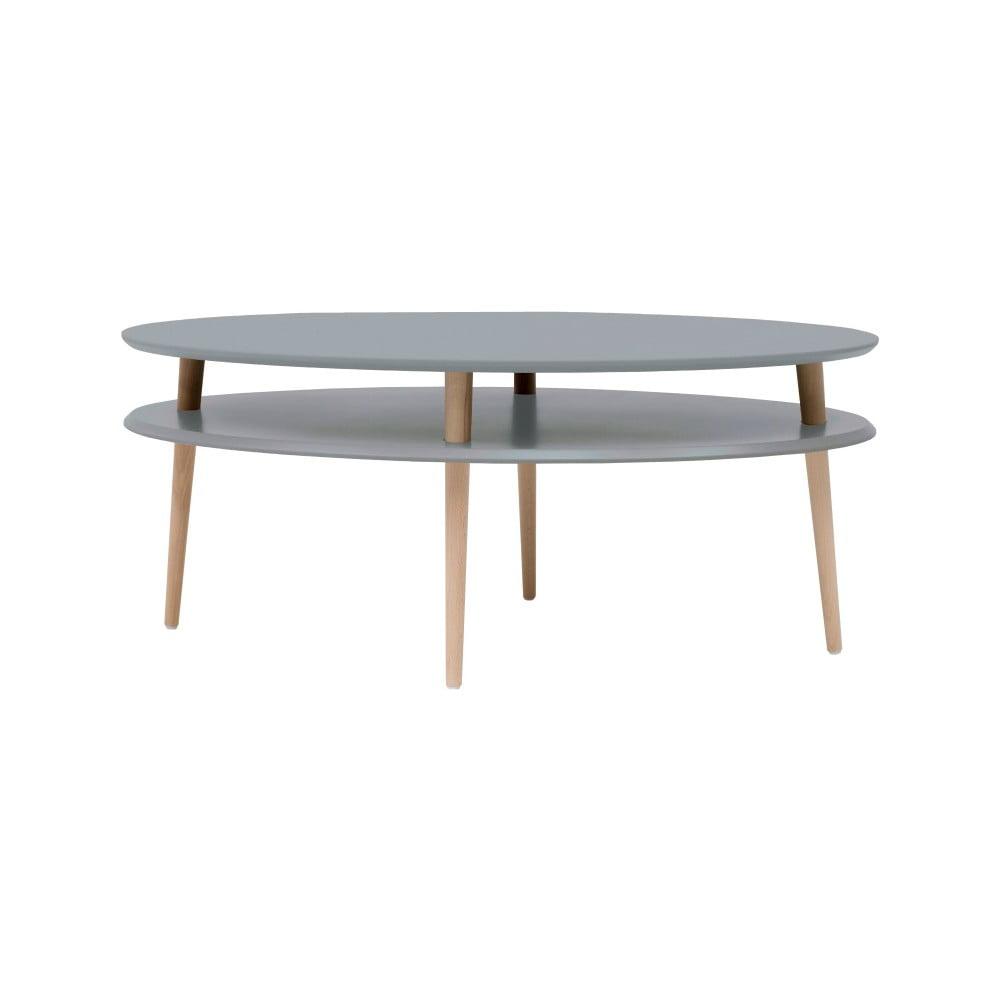 Tmavě šedý konferenční stolek Ragaba OVO
