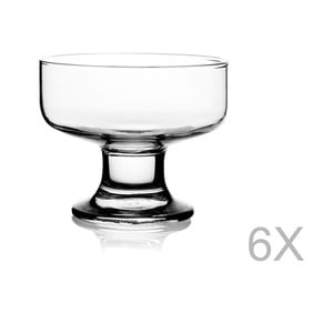 Sada 6 skleniček na servírovaí zmrzliny Paşabahçe, ⌀ 8 cm