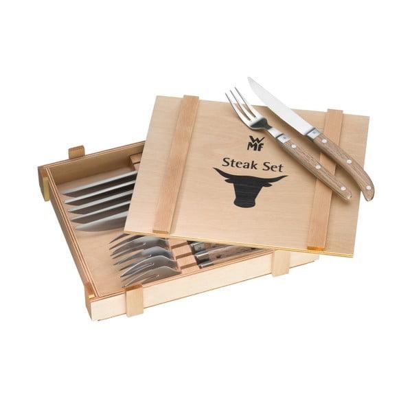 Ranch 12 db-os kés- és villakészlet steakhez - WMF