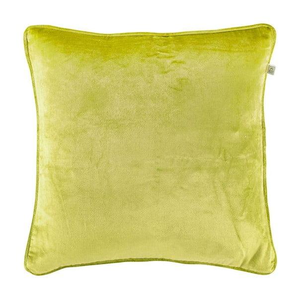 Polštář Fluweel Lime, 45x45 cm