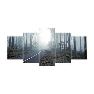 Vícedílný obraz La Maison Des Couleurs Forest