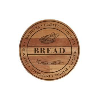 Tocător din lemn de fag Bisetti Broad Bread, ø 30 cm