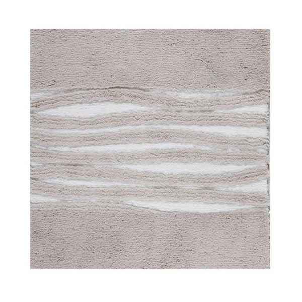 Koupelnová předložka Morgan Beige, 60x60 cm