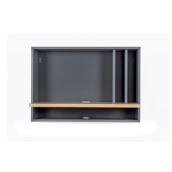Minyard szürke fali íróasztal - Woodman