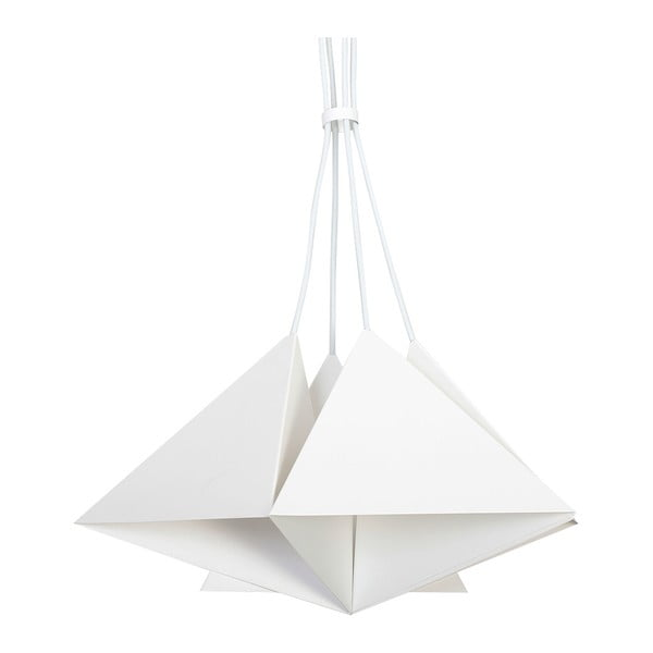 Biała lampa wisząca Evergreen Ligths Suspension Trio Grande