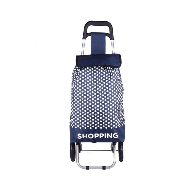 Modrá nákupní taška na kolečkách Hero Andes, 29l