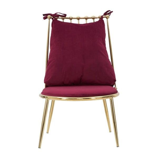 Glam Backy piros fotel - Mauro Ferretti